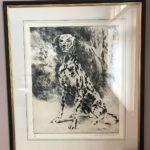 Leroy Neiman Signed Print Dalmation Dog