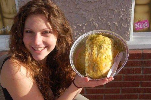 KelsEats Burrito