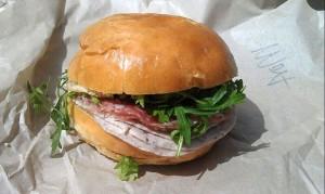 Mortadella Sandwich Salumeria San Francisco
