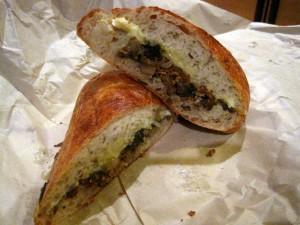 Mushroom Sandwich Salumeria