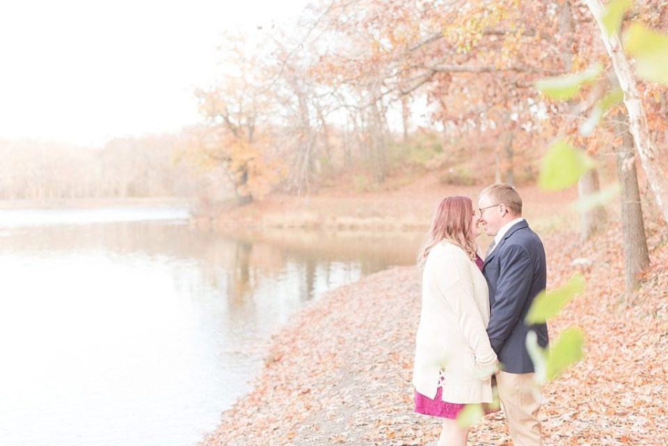 Lion's Lake Park engagement session