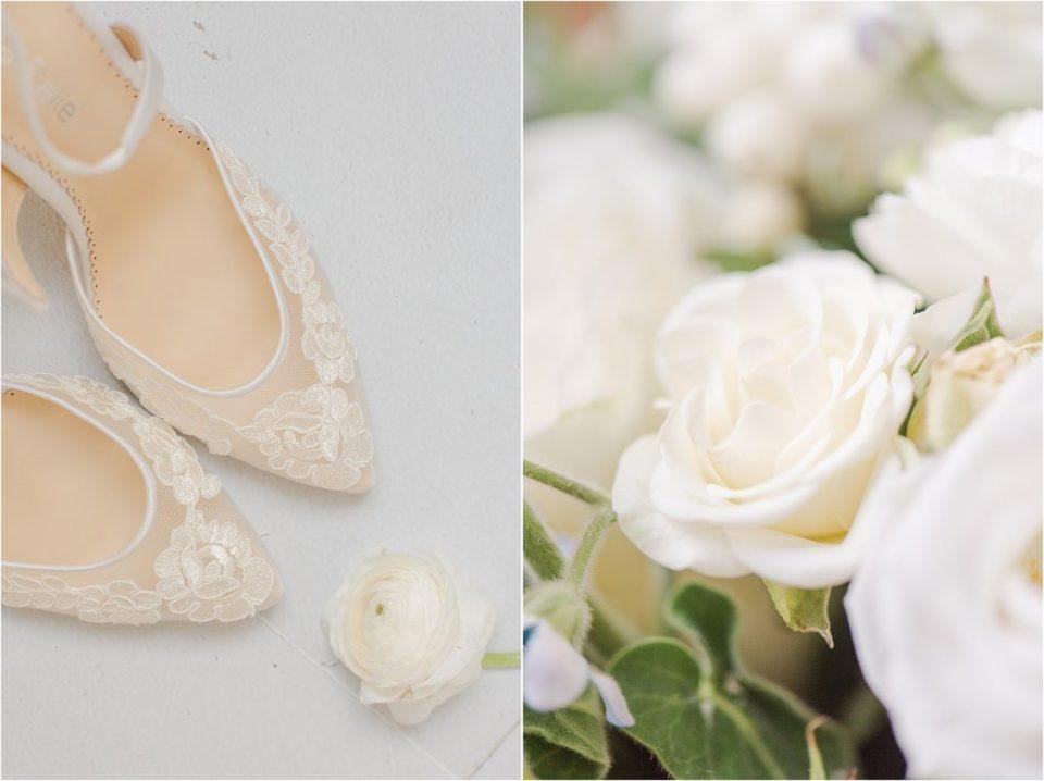 Belle Belle bridal shoes - KC Missouri wedding photographer