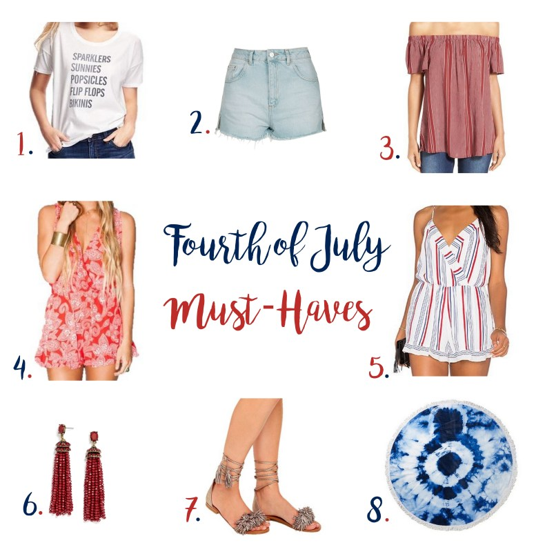 Fourth of July Must-Haves