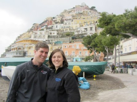 On the shores of Positano