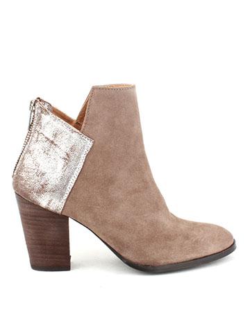 women's metallic leather shoes