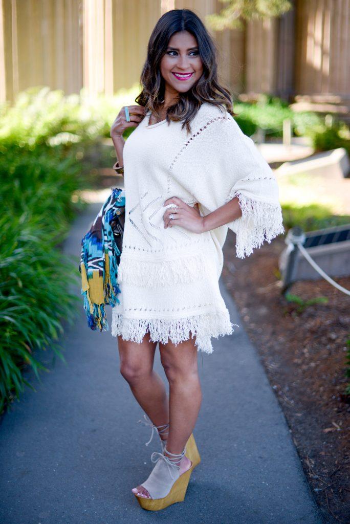 festival fashions - tassel dress