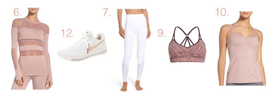 2017 Nordstrom Sale Activewear Picks