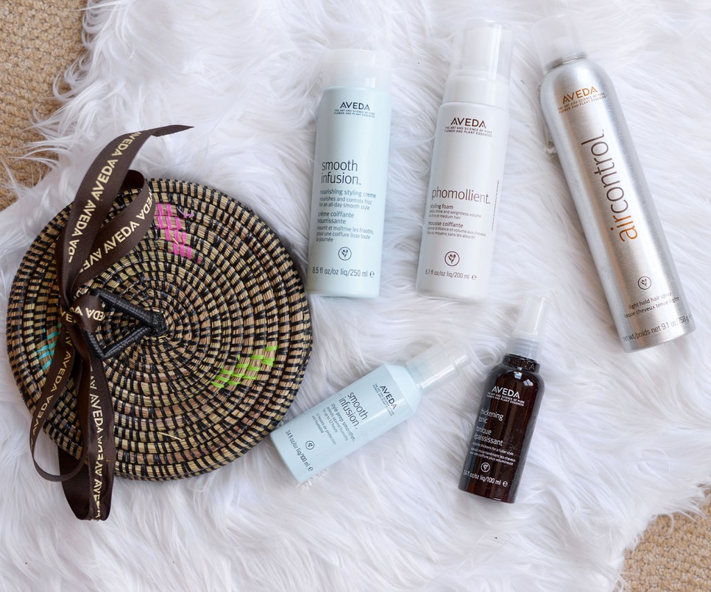 Aveda Essentials haircare package
