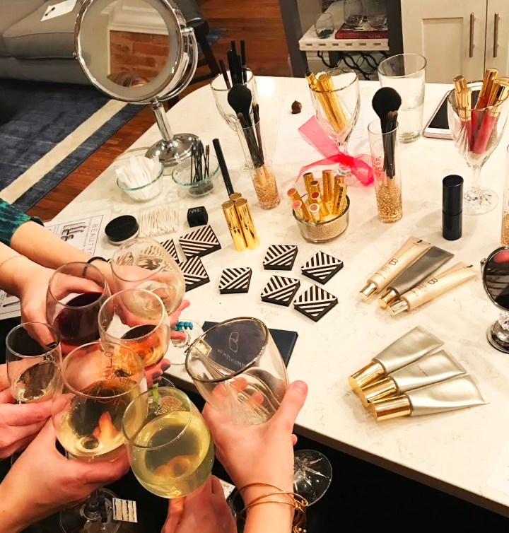 Hosting Girls Night: When Beauty, Wine & Friends Meet