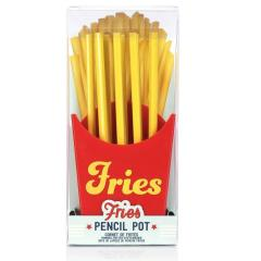 french fries pencil