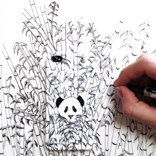KM panda case