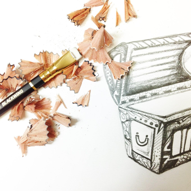 Blackwing Pencil 2 by Kelsey Montague Art.jpg