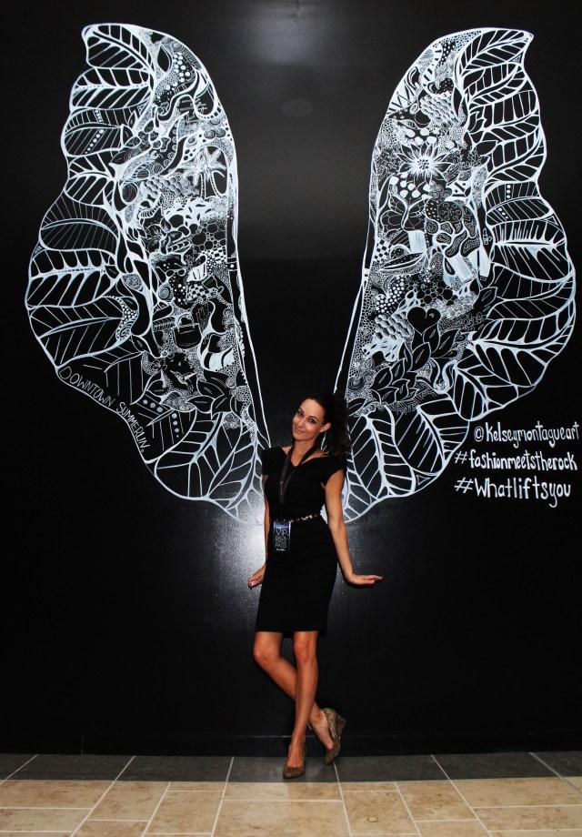 Kelsey Montague Art wings Tonya