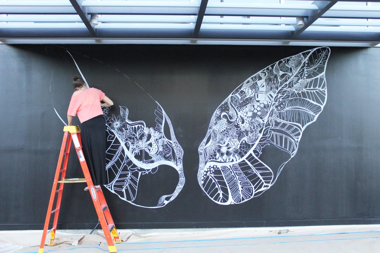 Kelsey Montague Art wings Wip 2