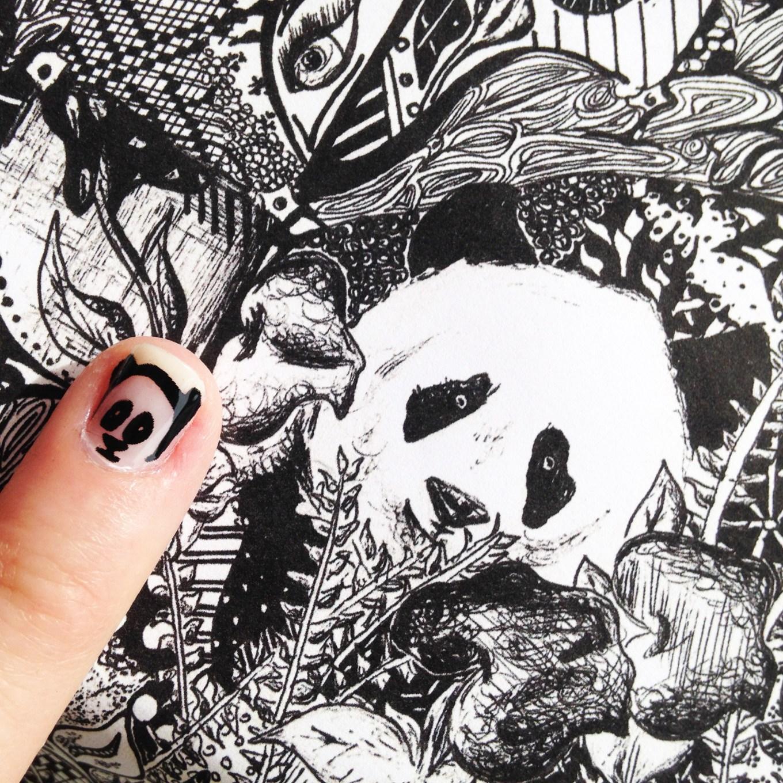 Kelsey Montague Art for Scratch Nails 11