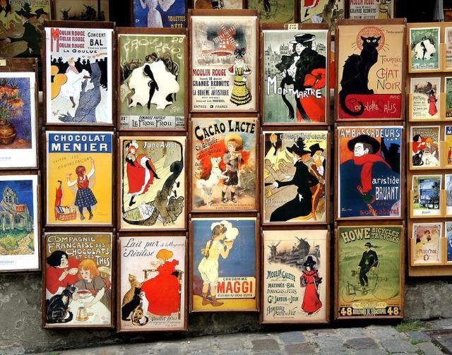 fineartamerica.com Montmartre Poster Shop by Gary Tinnes