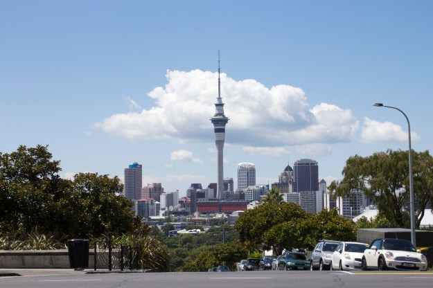 Auckland Skyline: by Courtney Montague