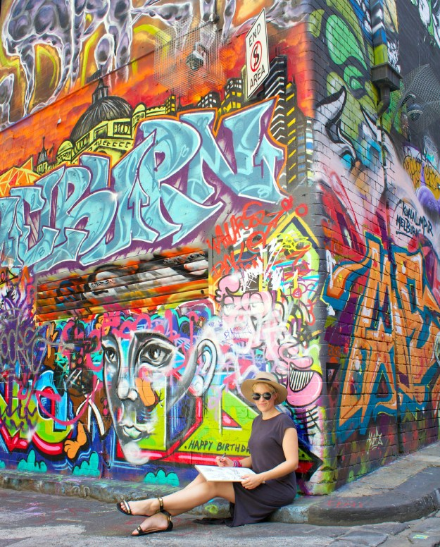 Hosier Lane Melbourne cropped