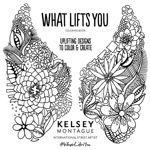 Coloring Book Title Page! – Kelsey Montague Art