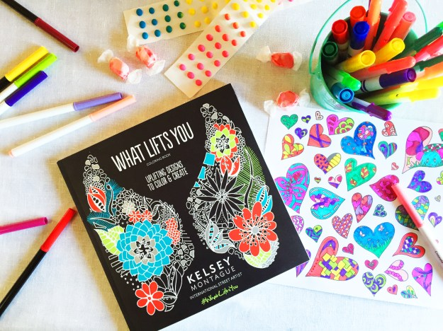 Whatliftsyou coloring book by Kelsey Montague Art