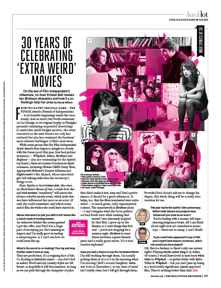 30 Years of Celebrating 'Extra Weird' Movies / The Hollywood Reporter / 2.27.15 / kelsey stefanson / art direction + graphic design / yeskelsey.com