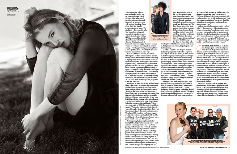 Renee / The Hollywood Reporter / 9.9.16 / kelsey stefanson / art direction + graphic design / yeskelsey.com