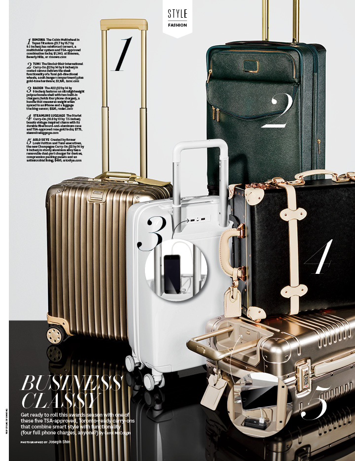 Business Classy / The Hollywood Reporter / 9.16.16 / kelsey stefanson / art direction + graphic design / yeskelsey.com