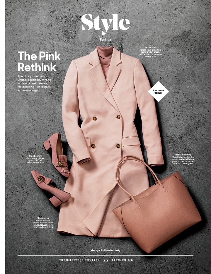 The Pink Rethink / The Hollywood Reporter / WIE 2016 / kelsey stefanson / art direction + graphic design / yeskelsey.com