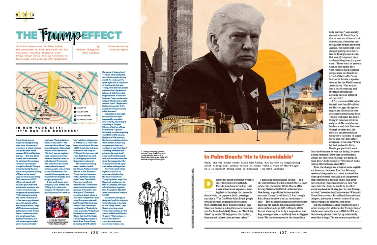 35 Most Powerful People in Media / The Hollywood Reporter / 4.13.17 / kelsey stefanson / art direction + graphic design / yeskelsey.com