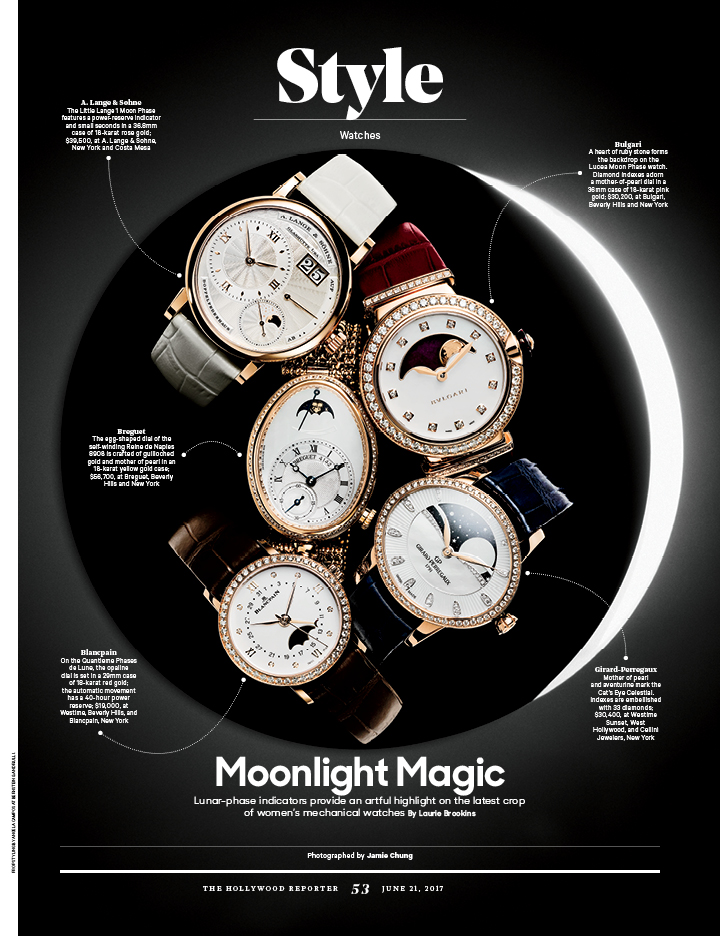 Moonlight Magic & Roman Holiday / The Hollywood Reporter / 6.21.17 / kelsey stefanson / art direction + graphic design / yeskelsey.com