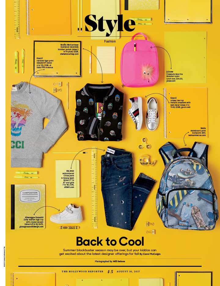 Back to Cool / The Hollywood Reporter / 8.16.17 / kelsey stefanson / art direction + graphic design / yeskelsey.com
