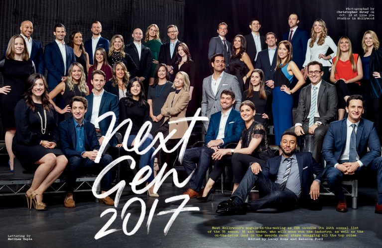 Next Gen 2017 / The Hollywood Reporter / 11.8.17 / kelsey stefanson / art direction + graphic design / yeskelsey.com
