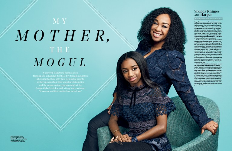 My Mother, The Mogul / The Hollywood Reporter / 12.5.17 / kelsey stefanson / art direction + graphic design / yeskelsey.com