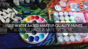 Safe face paint to make your skin happy!