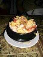 lobster macaroni & cheese.