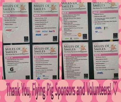 flying pig marathon mile markers volunteers -1