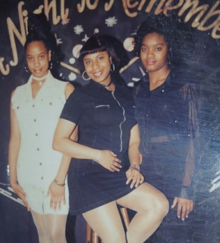 Kelsie, Geana, Tajuana Party '92.