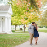 Engagement Session at Carillon Historical Park | Brittany + Rex