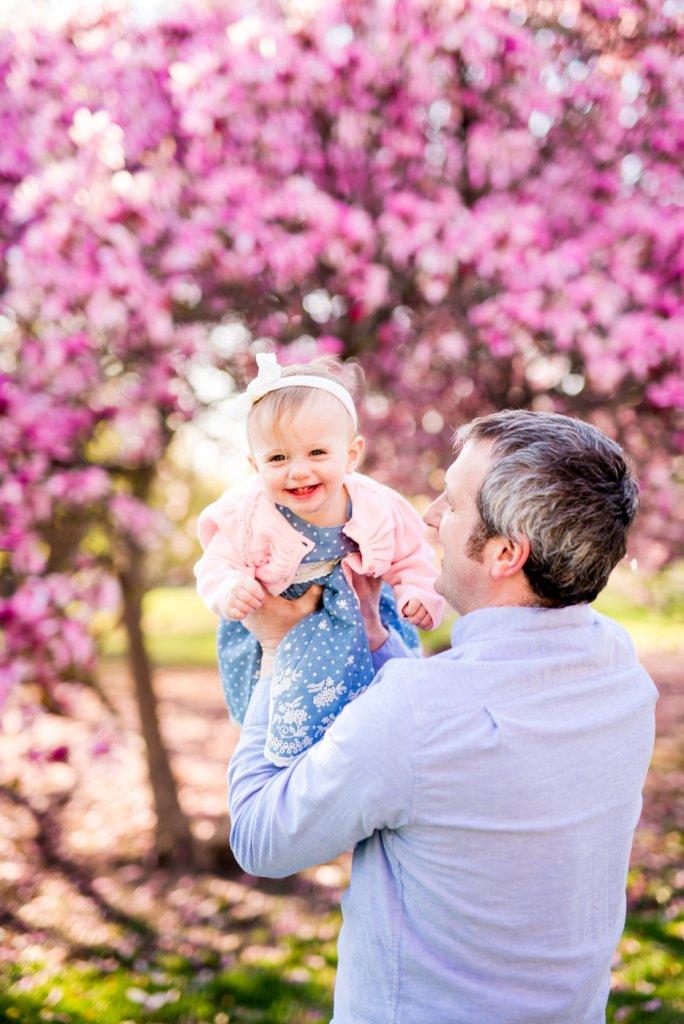 Blooming Magnolia Spring Mini Sessions in Columbus, Ohio