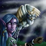 Zeshae as a Night Elf Druid