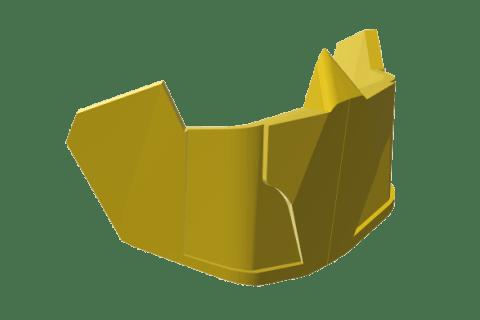 3D Printed Half-Mask