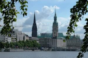 Binnenalster, Hamburg