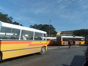 Terminal bus Valetta, Malta