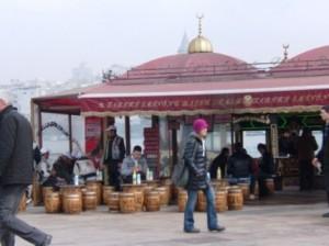 Sandwich ikan Istanbul
