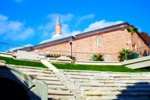 Kota tua Plovdiv Bulgaria
