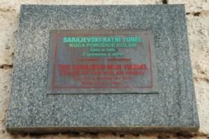 monumen perang bosnia