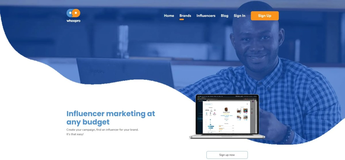 Whoopro for brands