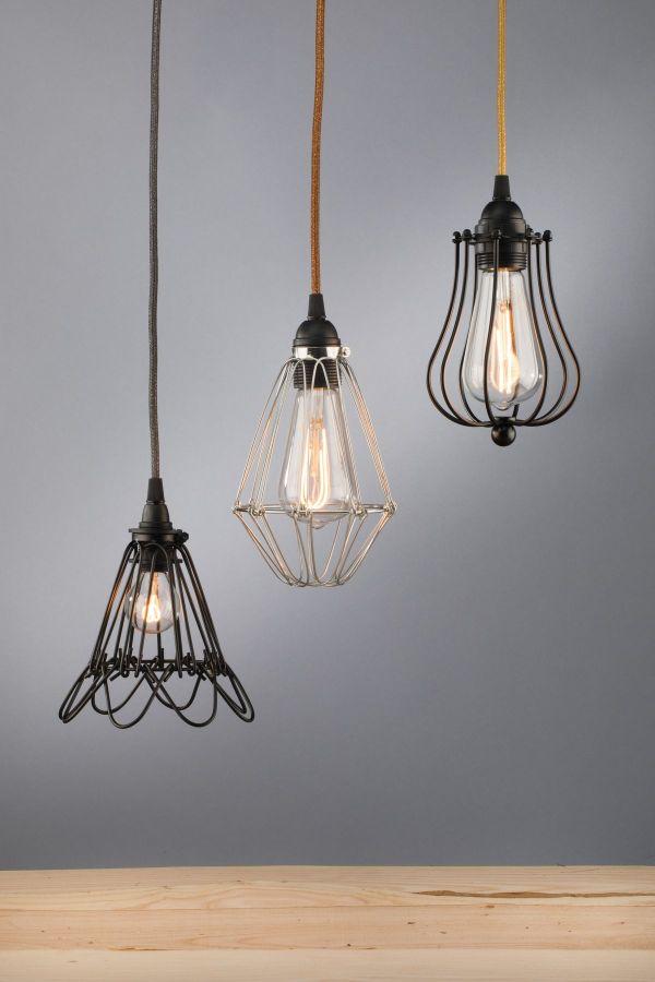 kelvin et lumen luminaires appliques baladeuses déco métal cordons électriques fantaisie ampoules LED Edison chambre entrée véranda séjour salon cuisine