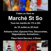 marché St So 2019 Dinan