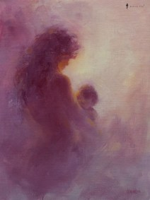 KelvinLim-Painting-Figurative-20180507-Mother-and-Child